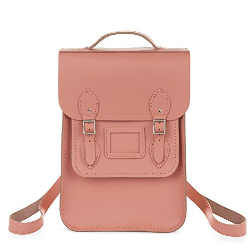 The Cambridge Satchel Company Portrait Backpack in Leather Colour Terracotta