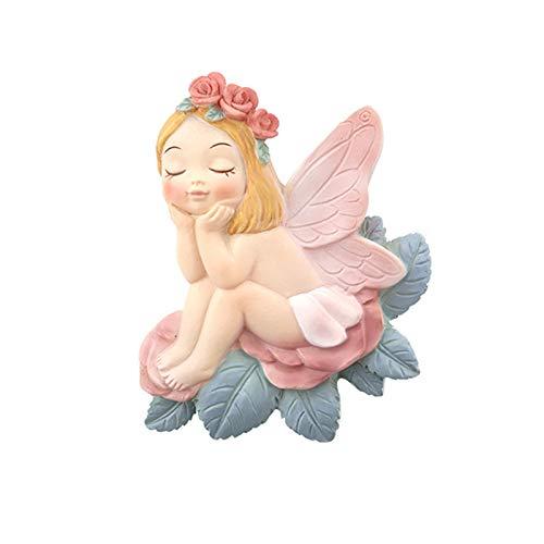 LNSTORE Flor de Hadas Switch Pegatinas de Dibujos Animados Etiquetas de Pared Interruptor Cubierta Protectora Flower Creative Fairy Switch Adornos Bonita decoración de interruptores (Color : A1)