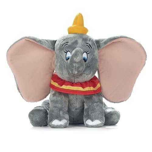 WHL Peluche Dumbo, Color Gris, Elefante, súper Suave, 30cm / 12inch