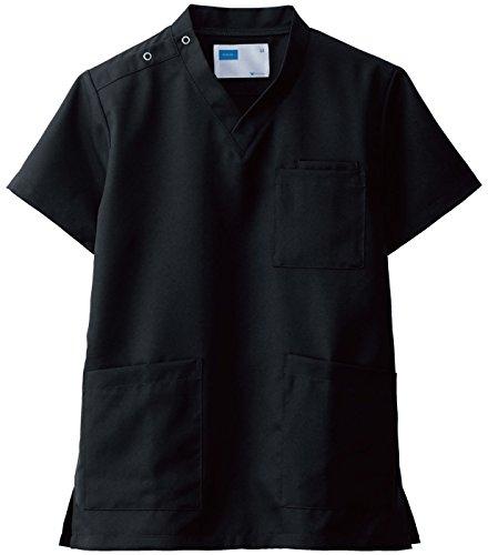 自重堂(JICHODO) スクラブ ホワイセル WHISEL 白衣 jd-wh11485a ブラック S