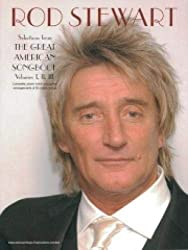 Rod stewart: selection from the great american songbook - volumes i, ii and iii piano, voix, guitare