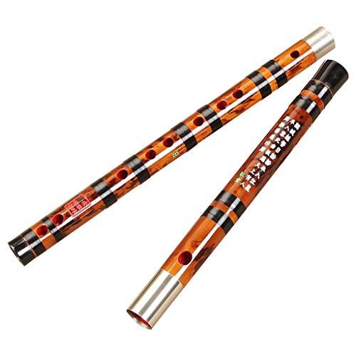 LYQZ Chinesisch Dizi Raffinierte Bambusflöte Professionelle Erwachsene Kinder Anfänger Spielen Querflötenklarinette - C, D, E, F, G Melodie (Color : G)