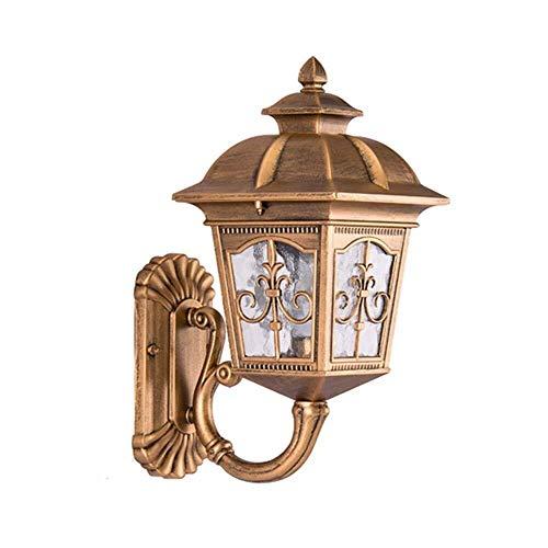 Wandlamp van glas, buitenlamp Villa Aisle hal balkon tuin licht waterdicht aluminium licht zacht materiaal wandlampen