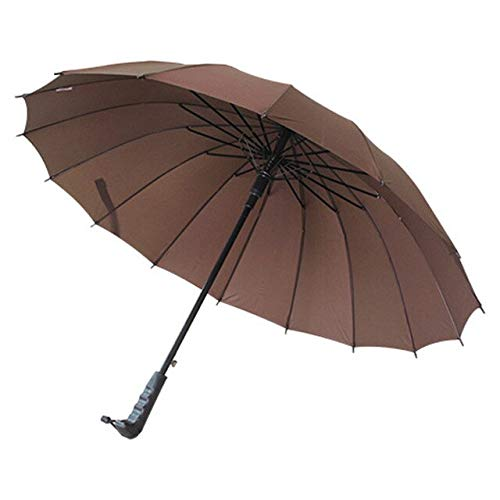 NJSDDB paraplu 16k lange handvat outdoor rechte paraplu grote golf paraplu's twee of drie personen compacte paraplu's parasol, 1 exemplaar