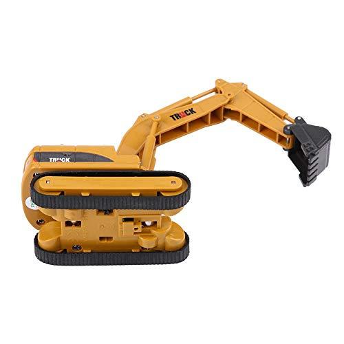 RC Auto kaufen Baufahrzeug Bild 5: Dilwe Fernbedienung Bagger Spielzeug, Mini RC Engineering Truck Auto Baufahrzeug Spielzeug Geschenk für Kinder Kinder*
