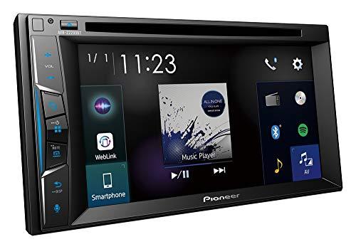 """Pioneer 1025873 AVH-Z2200BT Autorradio Multimedia 6.2"""" Bluetooth, Conectividad Smar, Negro"""