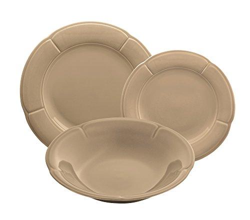 Kaleidos - Service d'assiettes en grès de 18 pièces « Total Bigge » (19501_19503_19500)