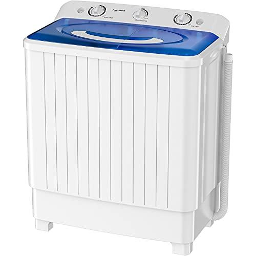 Auertech Portable Washing Machine, 28lbs Mini Twin...