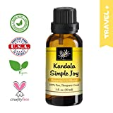 Kandala Simple Joy 100% Essential Oil Blend, 30ml, Relieve Depression, Sadness, Anxiety with...