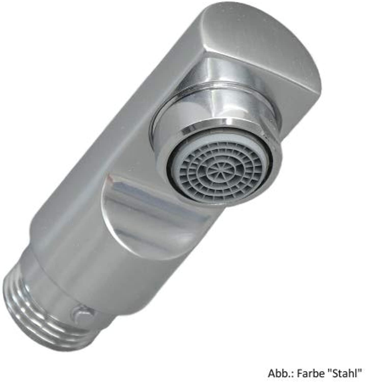 Damixa Brausekopf ohne Umstellung für Spültischarmaturen, Stahl, 0317366