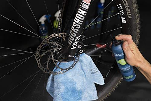 TUNAP SPORTS Bremsenreiniger Spray | Fahrrad Bremsen reinigen | Entfernt Verschmutzungen, zugunsten der Bremsleistung (300ml) - 2