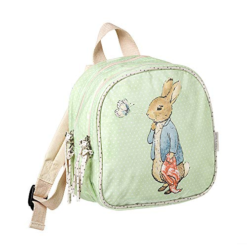 Peter Rabbit SMALL Backpack Kinder-Rucksack 21 Centimeters Grün (Light Green)