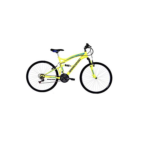 Masciaghi Bicicletta Mountain Bike Ruota 26 Gialla