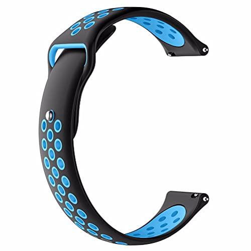 BASOYO Para Xiaomi LS05S correas de muñeca, correa de repuesto para Xiaomi LS05S, pulseras deportivas ajustables para mujeres y hombres