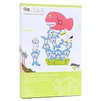 絵本のつみき 11ぴきのねこ プレイセット 木製 積み木 おもちゃ 知育玩具 TM-JUI-0301