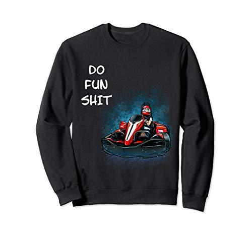 Go Kart Racing Motorsport Karting Kartbahn Damen Herren Sweatshirt