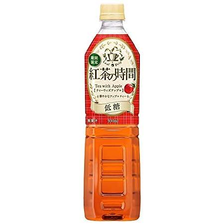 【復活】UCC 紅茶の時間 ティーウィズアップル 低糖 ペットボトル 930ml ×12本 961円(80円/本)! プライム会員は送料無料!
