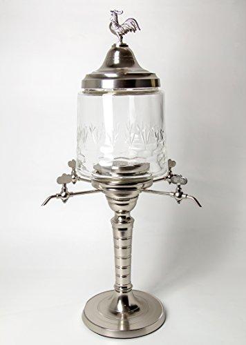 Premium Absinth-Fontäne aus Metall - Original wie im 19. Jahrhundert (Lebensmittelecht)