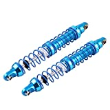 1/10 RC Coche Amortiguador, Ajustable Metal Amortiguador Apagador para SCX10 D90 1/10 Escala RC Crawler Car(100 mm)