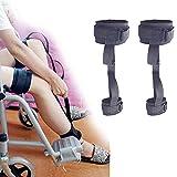 Worth having - Pierna y levantador de muslo Ayuda de movilidad de movilidad Cojín de transferencia médica, banda de asistencia de elevador de piernas con correa de manija de muñeca para movimientos de