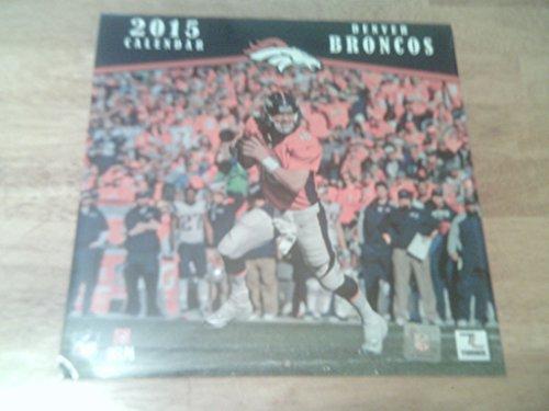 NFL Kalender Wandkalender 2015 30x60cm Denver Broncos