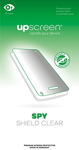 upscreen Spy Shield Clear Privacy Screen Protector...
