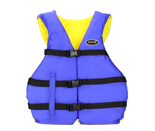 Rave Youth Nylon Personal Flotation Device (Blue/Yellow)...