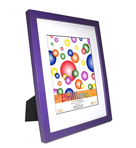Timeless Expressions Brilliance Wall Frame, 11 x 14, Purple