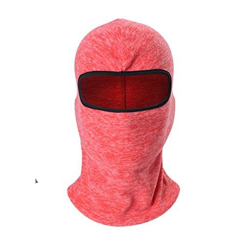 ECYC Cagoule d'hiver Thermique Cache-Cou Bonnet Masque IntéGral