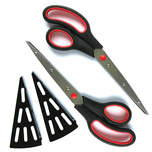 Set Of 2 Pizza Cutter Scissors With Serving Spatula For Easy Cutting Of Piping Hot Pizzas And Hot Food Without Scalding Your Hands