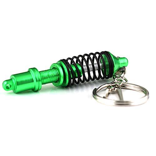 Lanceasy Schlüsselanhänger Stoßdämpfer, Auto Auto-Tuning-Teile Schlüsselanhänger Stoßdämpfer Keychain Schlüsselring-Federdämpfer