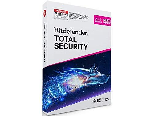 Bitdefender Total Security 2019 | 3 Appareils | 3 Ans | ESD | Télécharger | Email