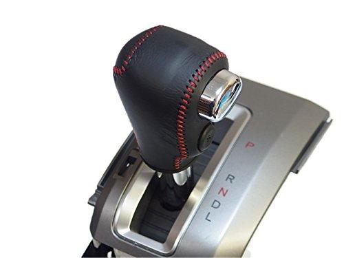 トリコローレEX フリード・スパイク・ステップワゴン・CR-V 黒革×赤ステッチ 3H-25 DIYシフトノブ本革巻替キット 1BK3H25B1B1R