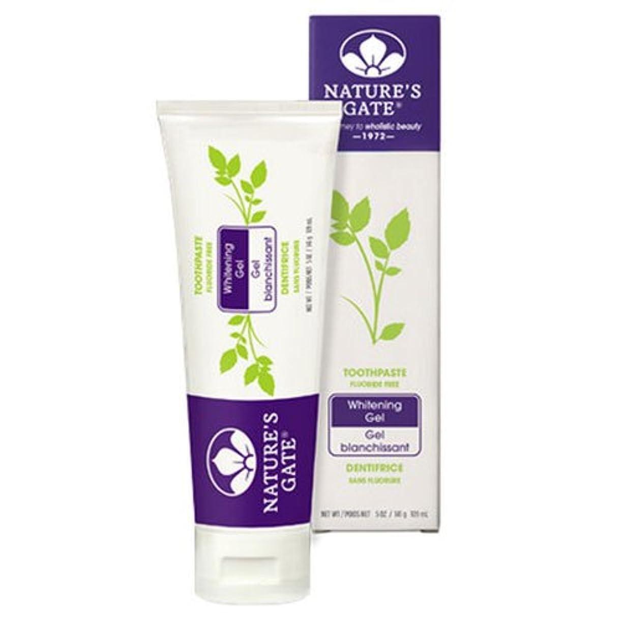 アンデス山脈国家昇進海外直送品Nature's Gate Dental Therapy Whitening Gel, 5 Oz (Pack of 2)