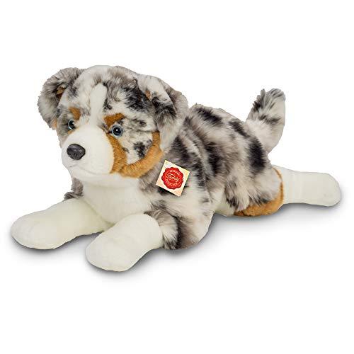 Hermann Teddy Collection Australian Shepherd liegend, ca. 60cm, bunt