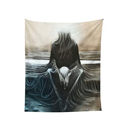 Woidxzxza Copy from Zdzisaw Beksi¨½ski Tapestry Wall Hanging with Art Nature Home Decorations for Room Bedroom Living