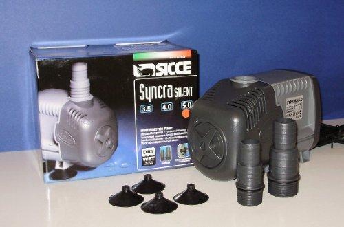 SICCE Bomba Syncra Silent 3.5 - 5.0 para acuarios y terrarios.