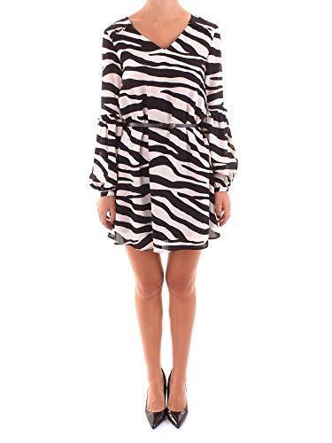 Liu Jo W69063 T5630 Vestido Mujer Nero Bianco 42