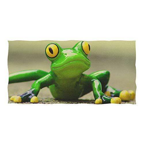 Microfiber Bath Towel Highly Absorbent Towels for Women Men 74 x 37 Inch Green Fog