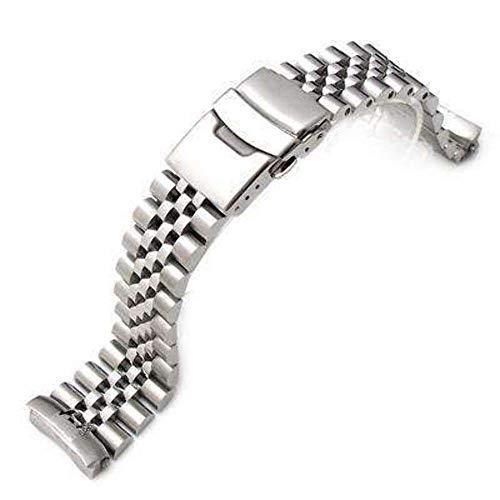 Cinturino Strapcode 22mm Super Jubilee in acciaio inossidabile 316L per SEIKO Diver 6309-7040