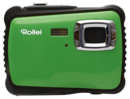 Rollei Sportsline 64 - Flexible Digitalkamera mit 5 MP CMOS Sensor, HD Videofunktion 720p (1280 x 720 Pixel) - Wasserdicht bis 3 Meter - Grün