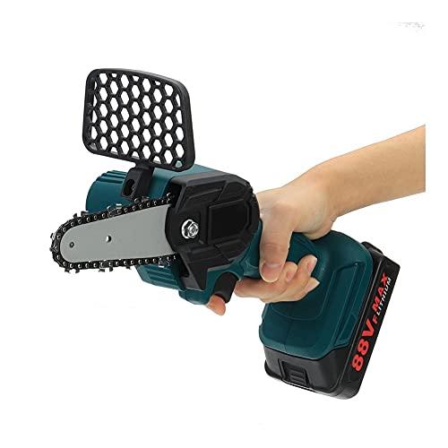 Herramientas Para Trabajar La Madera, Las motosierras eléctricas de 4 pulgadas, la batería de litio 2x 88V 800W mini podar la herramienta de jardín con una mano, con herramientas de carpintería de sie