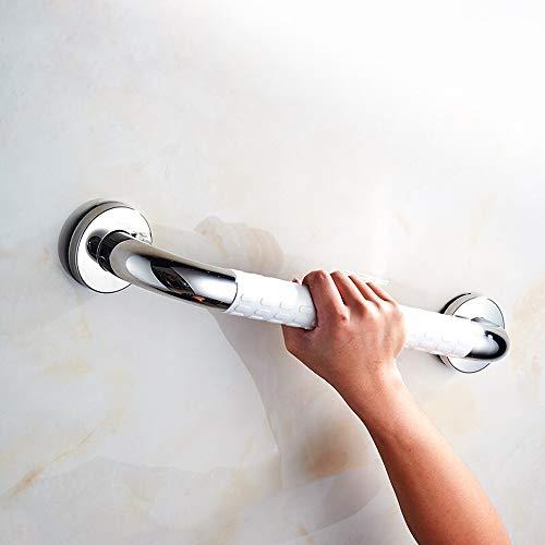 16LYP 380 mm Wannengriff, Sturdy Edelstahl Dusche Sicherheits-Handgriff for Badewanne, WC, Badezimmer, Küche, Treppengeländer, kommt mit Mounted Schrauben-Gleitschutzgriff