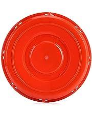Nimoa Tapa del Tanque, Agua Almacenamiento de líquidos IBC Instalación del Tanque Cubierta de plástico Tapa Tapa Adaptador 163 mm