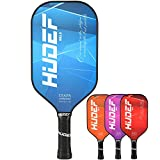 HUDEF Pickleball Paddle,Pickleball Paddles,USAPA Approved Lightweight Graphite Carbon Fiber Face Pickleball Paddle Racquet