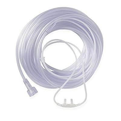 """Medline Infant Supersoft Cannulas with Universal Connectors, 7"""" Length (Pack 50)"""