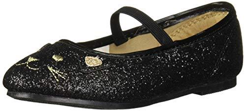 Carter's Girl's Fairy Dress Shoe, Black, 9 M US Toddler