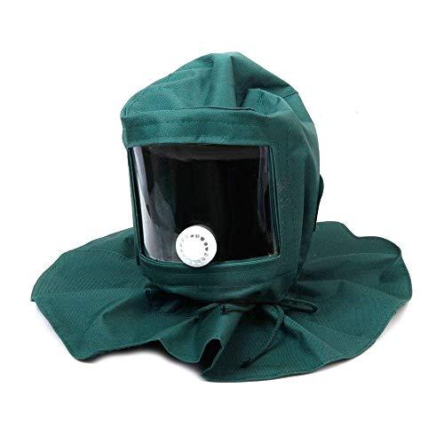 Clarashop Schutzhelm, Windschutz, Staubschutz, für Sandstrahl, Basteln