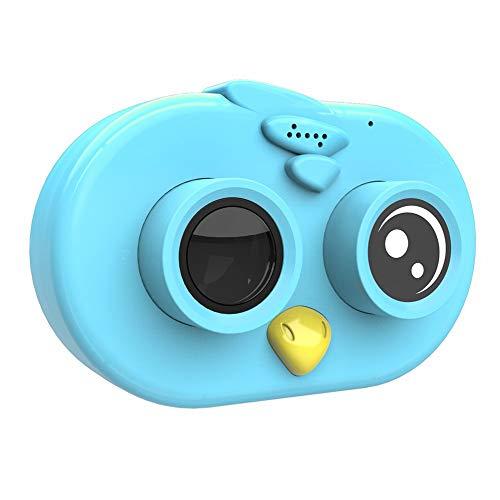 120 Lerchen-Kinderkamera-Karikatur-Minidigitalkamera WiFi Hd Kinder kleines SLR kreatives Geschenk - Blau