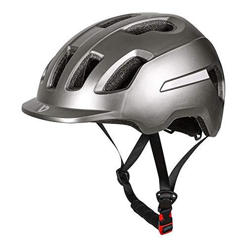 Fahrradhelm Integralhelm Fahrrad Downhill,Fahrradhelm,Elektroauto-Schutzhelm, Städtischer Batterie-Freizeitfahrrad-Reflexhelm